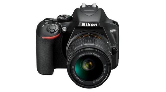 Câmera Nikon D3500 Lente 18-55mm ***nova Na Caixa***