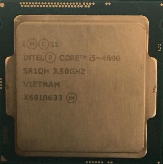 Processador Intel Core I5 4690 3.5 Ghz Funcionando 100%