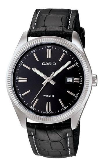 Relógio Casio - Ltp-1303l-1avdf - Leather Strap Promoção