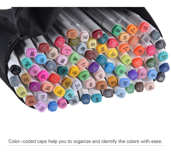 Juego De Marcadores, 80 Colores