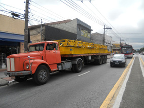 Scania 1976 Com Carreta Engatada