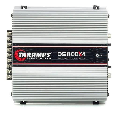 Imagem 1 de 9 de Módulo Taramps Ds800x4 800w Rms 2 Ohms Ds800 Amplificador