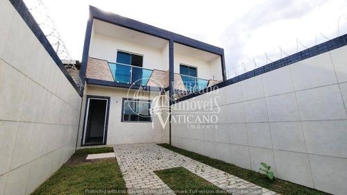 Sobrado Com 3 Dormitórios À Venda, 76 M² Por R$ 235.000,00 - Campo De Santana - Curitiba/pr - So0116
