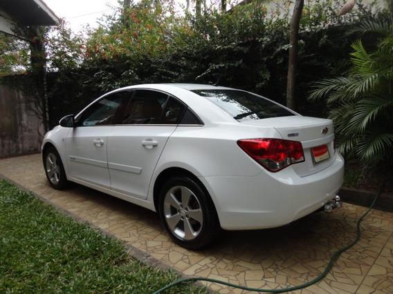 Chevrolet Cruze Lt 1.8 Ecotec Manual 2012 Branco Couro Novo!