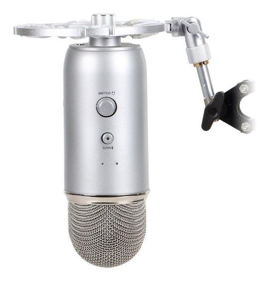Kit Microfone Blue Yeti+braço Articulado+pop Filter+shock Mo
