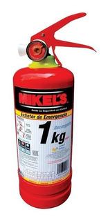 Extinguidor De Emergencia 1 Kg Mikels