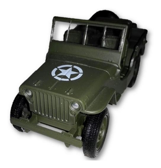Jeep 1941 Wilys Mb Original Welly Escala 1/38 Version Loose