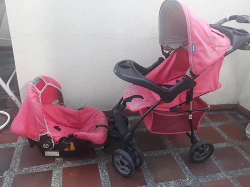Coche Para Bebe  Marca Infanti Con Tres Niveles De Altura