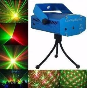 Mini Projetor Holográfico Laser C Efeitos Especiais Festas