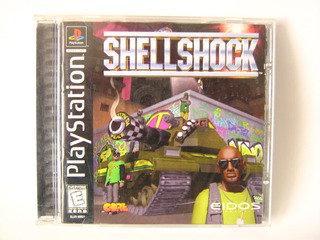 Shellshock Para Playstation1 Original
