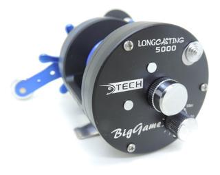 Reel Tech Longcasting 5000 - Freno Magnetico - Lanzamiento