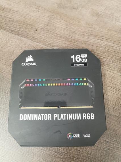 Memória Ddr4 Corsair Dominador Platinum Rgb 2x8gb 3000mhz