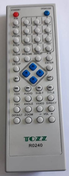 Controle Remoto Dvd Precision Mod. Pvd-956 (r0240)