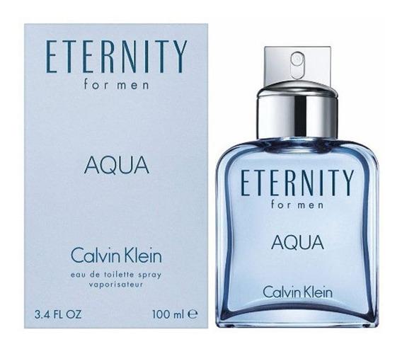 Eternity Aqua Calvin Klein Masculino Edt 100ml Frete Gratis