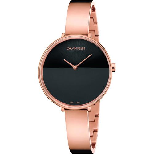 8090c8c8e11c Reloj Calvin Klein Para Mujer En Rosa - Reloj de Pulsera en Mercado ...