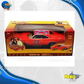 Dodge General Lee Escala 1/18 Metal Johnny Lightning Novo