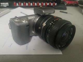Sony Nex 5n Con Lente 28mm