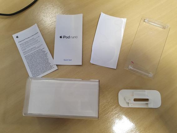 Caixa Vazia iPod Nano 4 Geracao 8gb Special Edition Vermelho