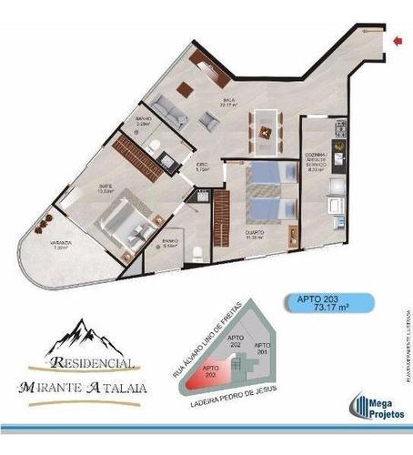 Apartamento - Morro Atalaia - Ref: 1419 - V-ap0986