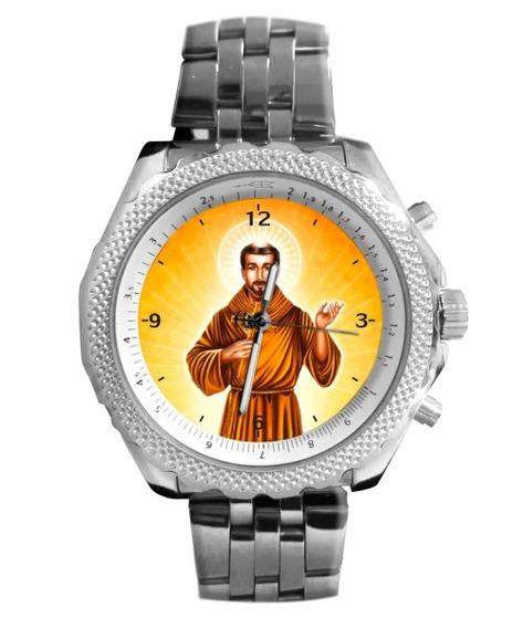 São Francisco De Assis Relógio Personalizado 5276