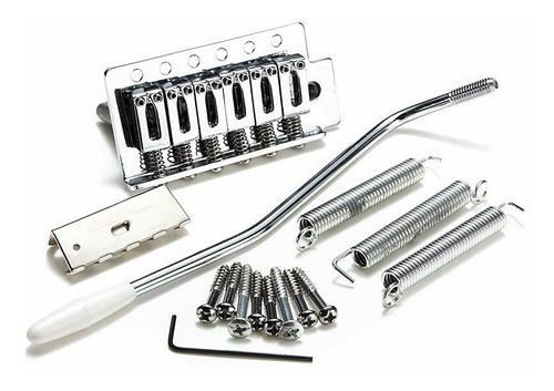 Ponte Para Guitarrra Strato Caster Kit Completo Loja