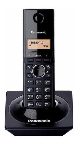 Imagen 1 de 2 de Teléfono inalámbrico Panasonic KX-TG1711 negro