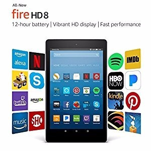 Tablet Amazon New Fire Hd 8 Pol Com 8ª Ger. 16 Gb P/ Entrega