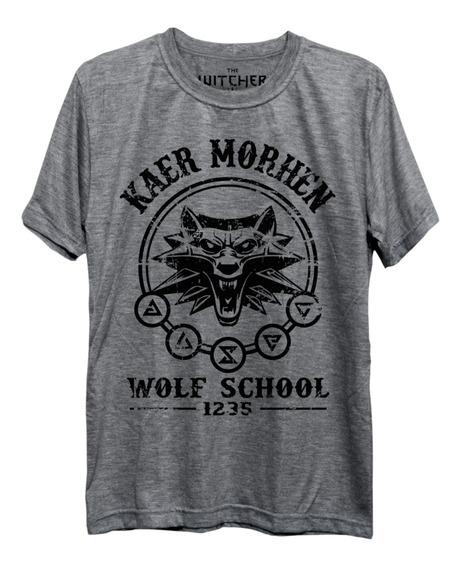 Camiseta The Witcher 3 Wild Hunt Geralt Freekz