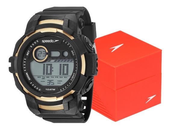 Relógio Speedo Masculino Digital Esportivo Prova D
