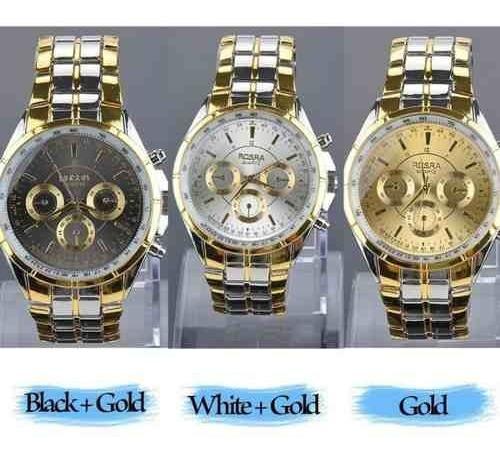 Relógio Modelo Em Horas Algarismos Aramaicos Aço Inoxidável