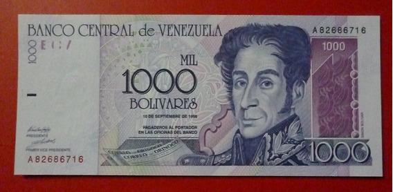 Venezuela 5000 5,000 Bolivares 1998 P-78 Unc