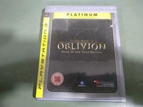 Jogo Seminovo The Elder Scrolls Iv Oblivion Goty Ps3 Raro!!!