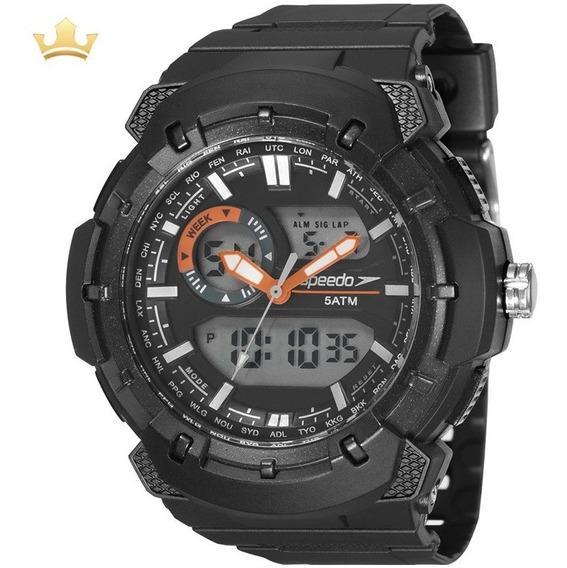 Relógio Speedo Masculino 81184g0evnp1 Com Nf