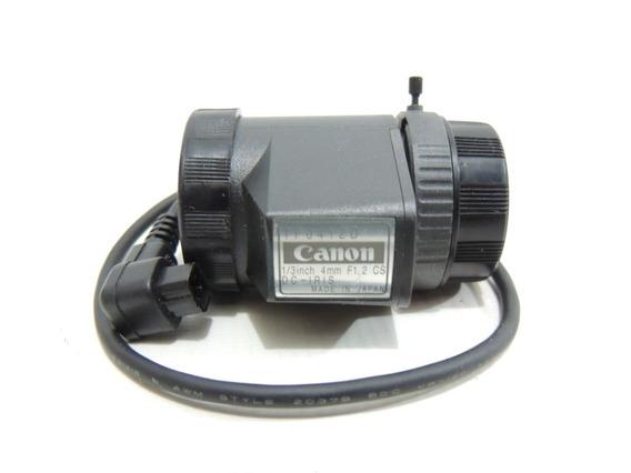 Lente Câmera Cctv Canon Tf0412d 1/3 4mm