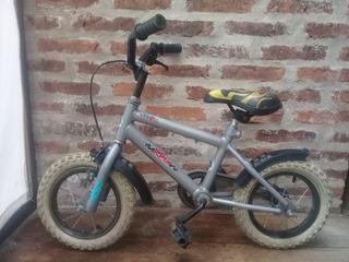 Bicicleta Phyton Malibú Bmx R12 1/2, Usada Rueditas