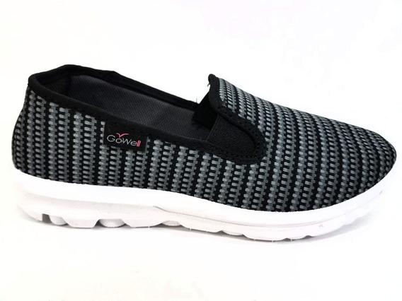 Zapatillas Náuticas Con Elásticos Para Damas