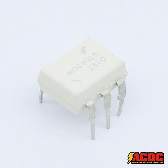 5 Pçs Circuito Integrado Optoacoplador - Moc 3020