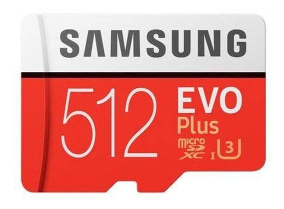 Cartão Samsung Micro Sd Evo Plus 512gb 100mb/s Sdxc 4k U3 1