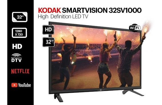 Smart Tv Led Kodak Smartvision 32sv1000 32 Hd Netflix