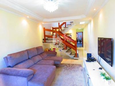 Sobrado Com 4 Dormitórios À Venda, 198 M² Por R$ 692.000