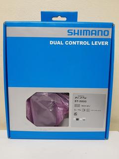 Manijas Shimano 105 5800 De Cambio Y Freno Sti 2x11