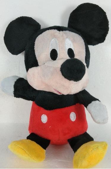 Mickey Disney Pelúcia Miniatura 16 Cm Fofinho Macio Presente