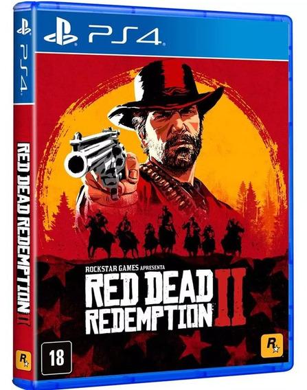Red Dead Redemption 2 Ps4 Mídia Física Lacrado Pronta Entre