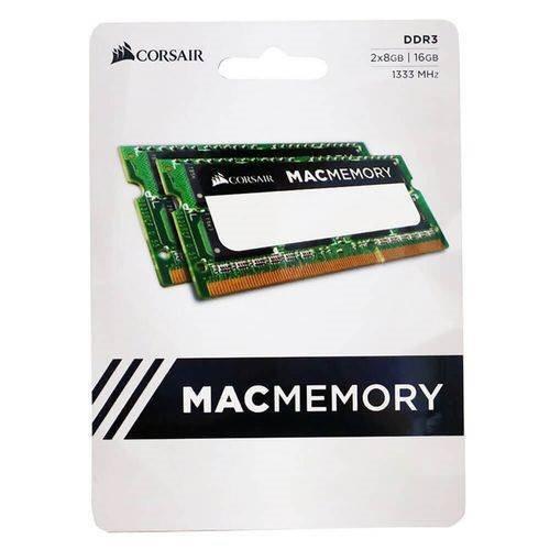 Memória Corsair Macmemory 16gb 2x 8gb 1333mhz Ddr3 Mac/note