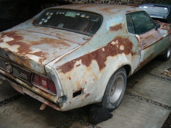 Mustang 72 Hard Top Clasico - Para Restaurar