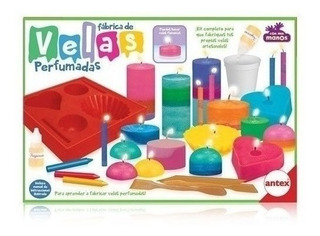 Fabrica Tus Velas Perfumadas Set Completo Original Antex