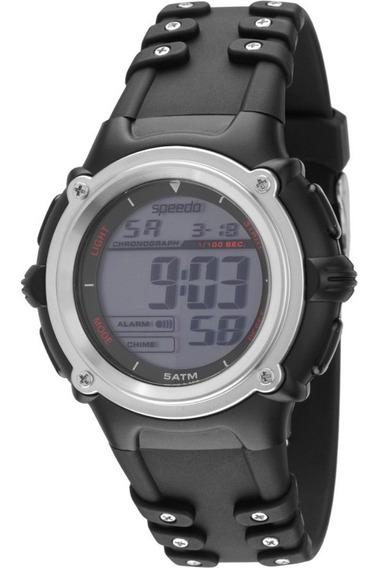 Relógio Speedo Masculino Digital Preto Sport 81058g0ebnp1