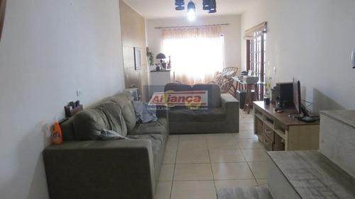 Sobrado Com 3 Dormitórios À Venda, 250 M² Por R$ 510.000 - Parque Continental I - Guarulhos/sp - Ai6213