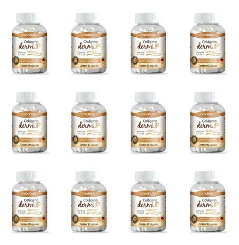 Imagem 1 de 1 de Maxinutri Colágeno +dermup Verisol C/90 (kit C/12)