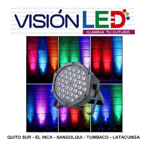Tacho Led 36w Dmx Luces Audiorítmico Escenario Eventos
